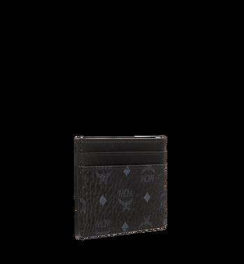 MCM Card Case in Visetos Original MXA8SVI26BK001 AlternateView2