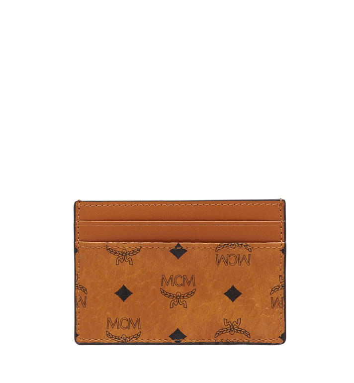MCM Card Case in Visetos Original MXA8SVI26CO001 AlternateView
