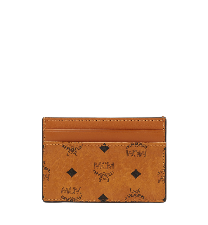 MCM Card Case in Visetos Original MXA8SVI26CO001 AlternateView3