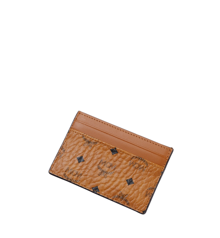 MCM Card Case in Visetos Original MXA8SVI26CO001 AlternateView4