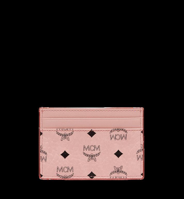MCM Card Case in Visetos Original MXA8SVI26PZ001 AlternateView