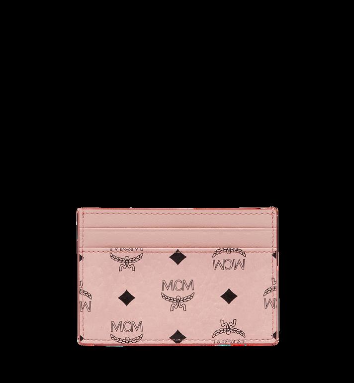MCM Card Case in Visetos Original MXA8SVI26PZ001 AlternateView3