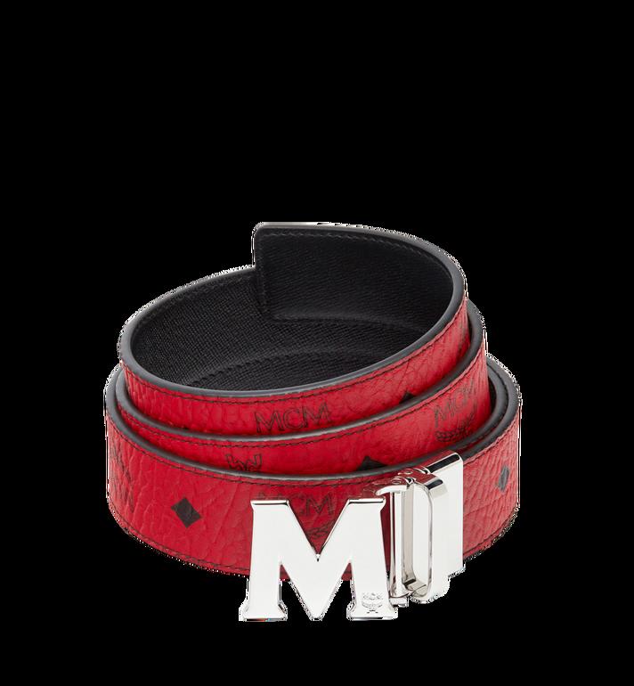 """MCM Claus M Reversible Belt 1.5"""" in Visetos MXB6AVI02RU001 AlternateView"""