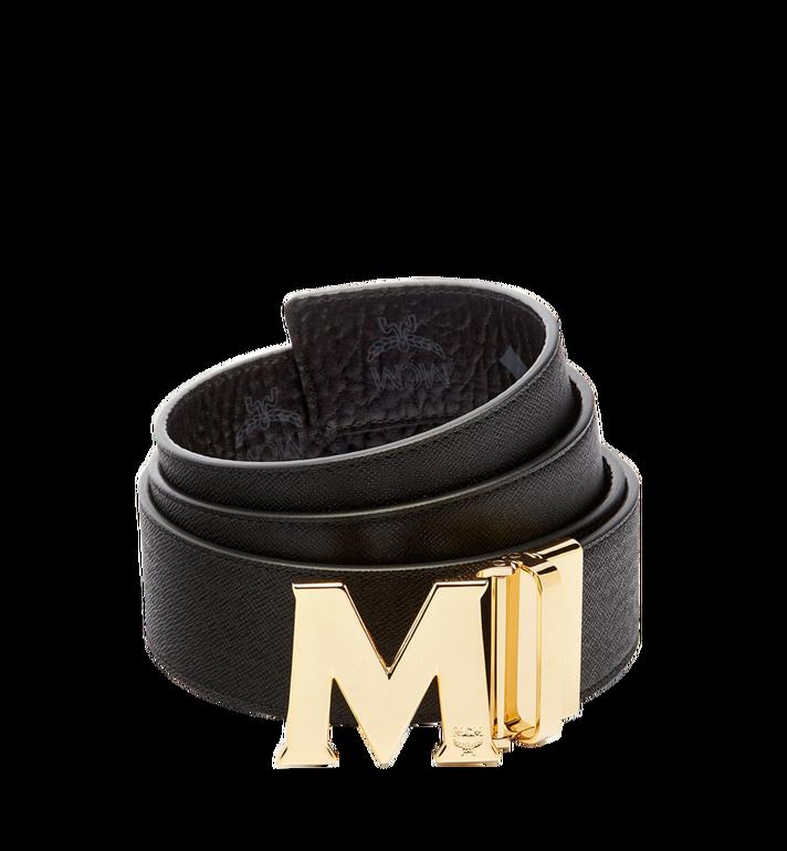 "MCM Claus Reversible Belt 1.75"" in Visetos MXB6AVI04BK001 AlternateView2"