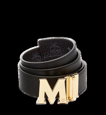 "MCM Claus M Reversible Belt 1.75"" in Visetos MXB6AVI04BK001 AlternateView2"