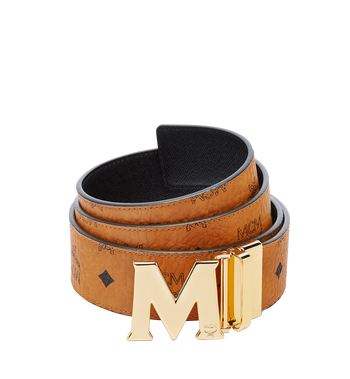 "MCM Claus M Reversible Belt 1.75"" in Visetos MXB6AVI04CO001 AlternateView"