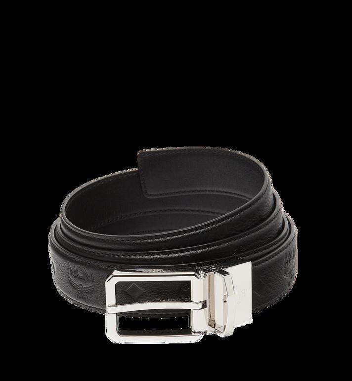 MCM Wendegürtel für Kleid 3 cm aus Leder mit Monogramm MXB7ADB13BK001 AlternateView