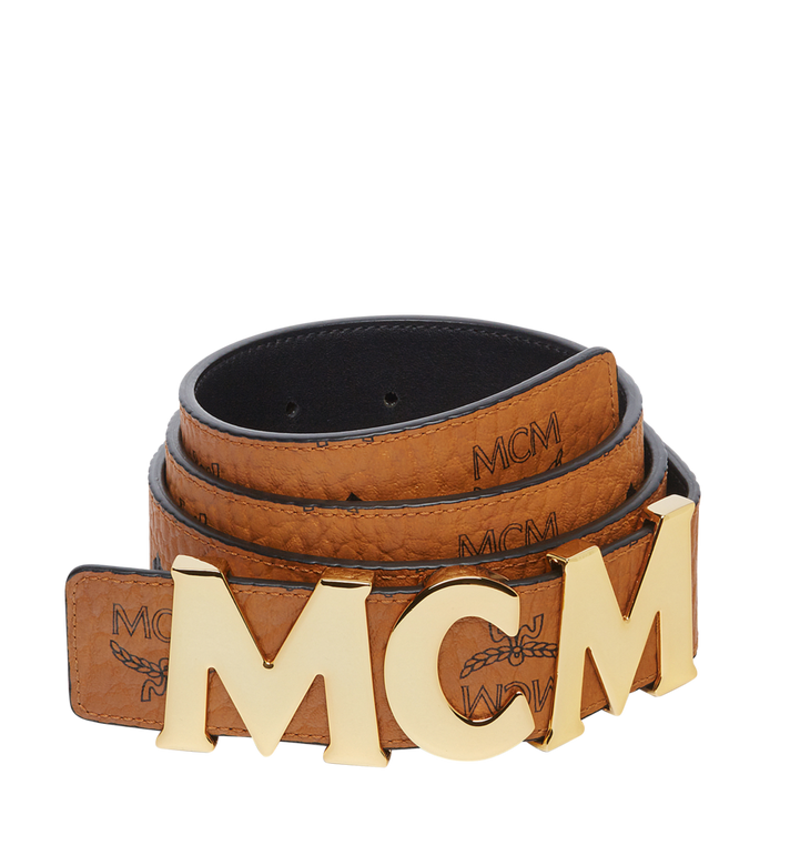 "MCM Letter Belt 1.5"" in Visetos MXB7AMM08CO110 AlternateView"