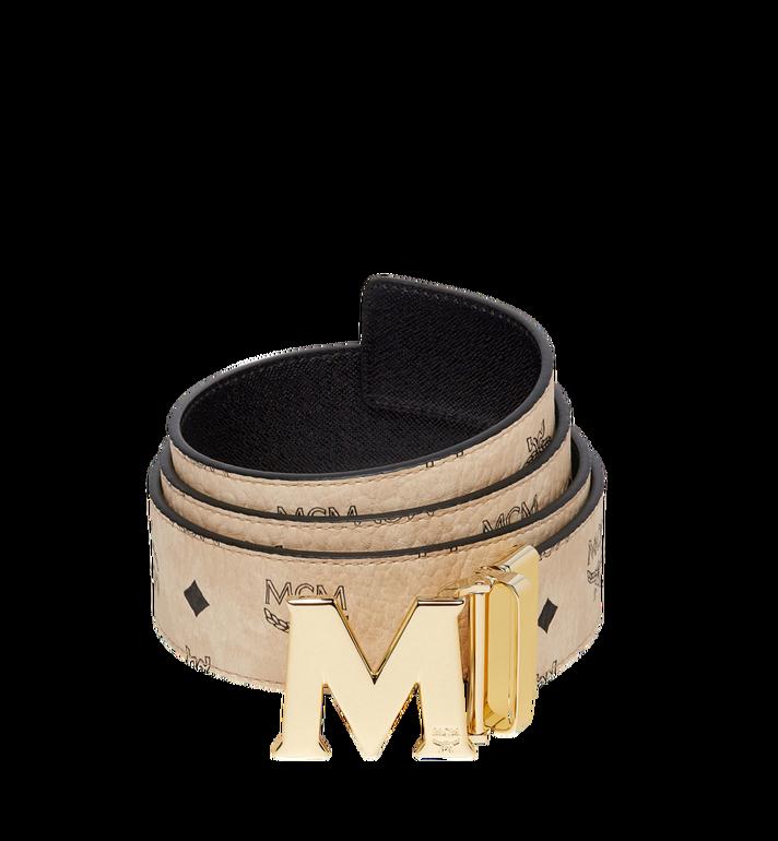 "MCM Claus M Reversible Belt 1.75"" in Visetos MXB7AVI04IG001 AlternateView"