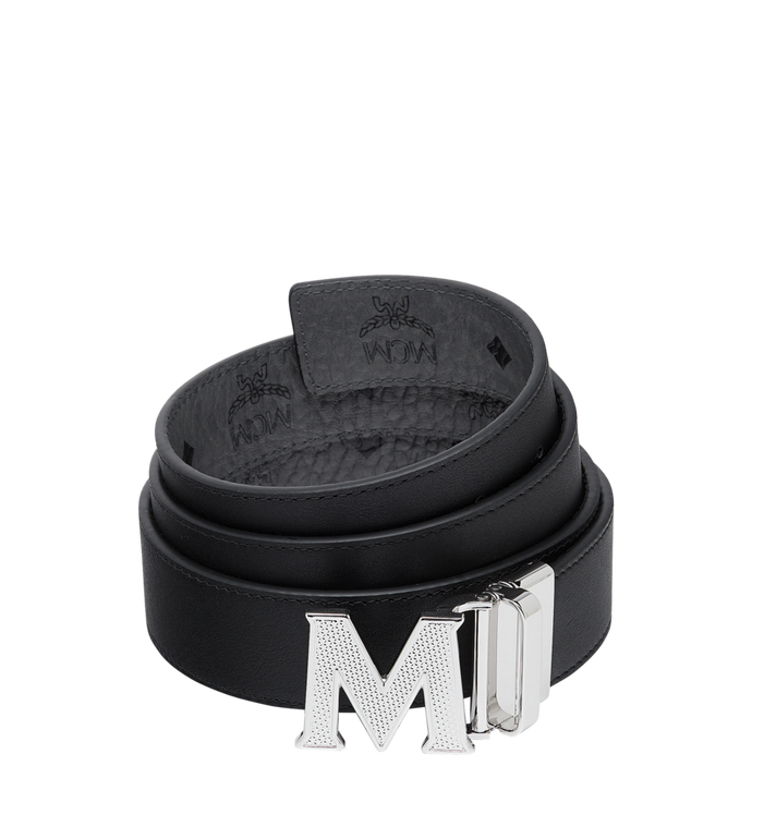 "MCM Claus Textured M Reversible Belt 1.5"" in Visetos MXB8AVI21EG001 AlternateView2"