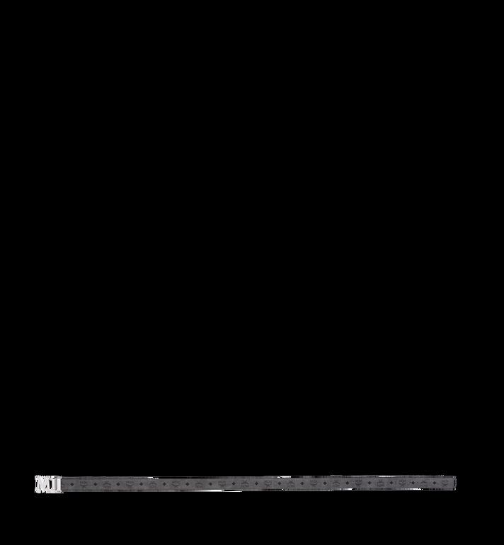 "MCM Claus Textured M Reversible Belt 1.5"" in Visetos MXB8AVI21EG001 AlternateView3"
