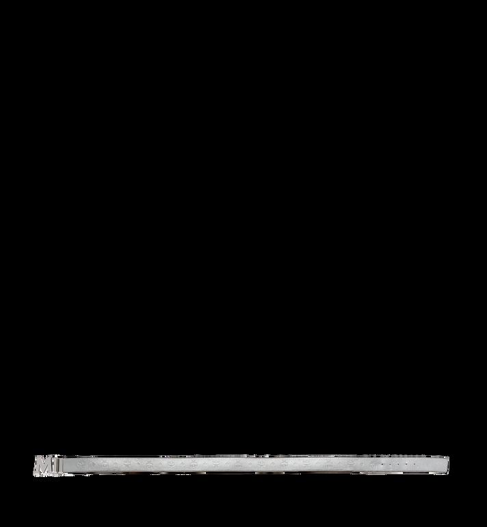 "MCM Claus M Reversible Belt 1.75"" in Monogram Leather MXB8SMM18SV001 AlternateView3"
