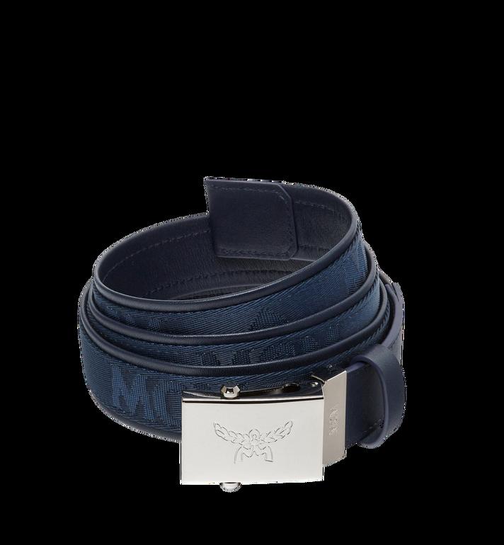 """MCM Laurel Belt 1.4"""" in Woven Nylon MXB8SMM21VY130 AlternateView"""