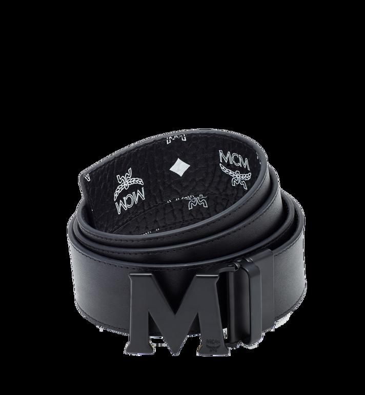 "MCM Flat M Reversible Belt 1.75"" in Visetos AlternateView2"