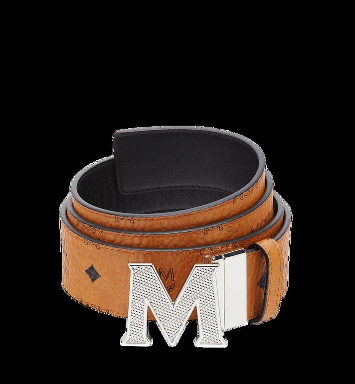 "MCM Claus M Reversible Belt 1.75"" in Visetos MXB8SVI22CO001 AlternateView"