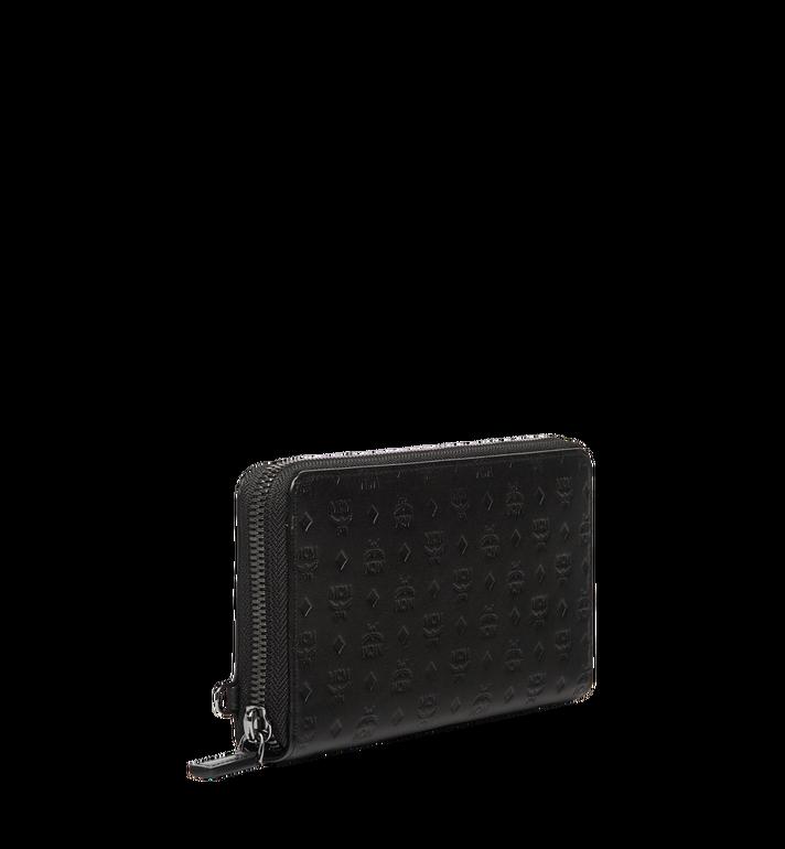MCM Sigmund Brieftasche mit Rundum-Reißverschluss aus Leder mit Monogramm MXL6AIE25BK001 AlternateView2