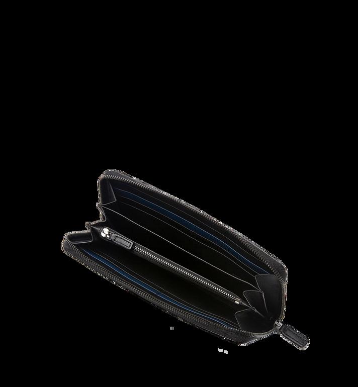 MCM Sigmund Brieftasche mit Rundum-Reißverschluss aus Leder mit Monogramm MXL6AIE25BK001 AlternateView4