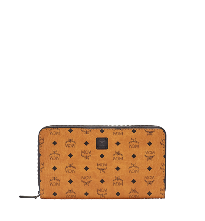 MCM MCM Travel Collection Passport Wallet MXL6SHE08CO001 AlternateView