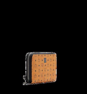MCM Travel-Kollektion Reisepass-Brieftasche mit Rundum-Reißverschluss und Handgelenksband MXL6SHE08CO001 AlternateView2