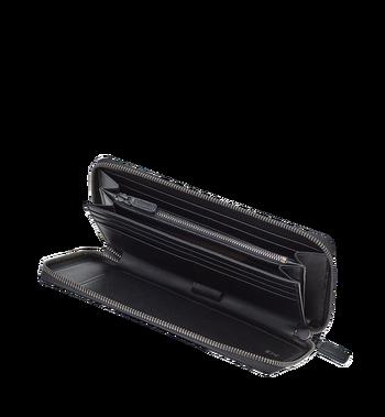 MCM Travel-Kollektion Reisepass-Brieftasche mit Rundum-Reißverschluss und Handgelenksband MXL6SHE08CO001 AlternateView4