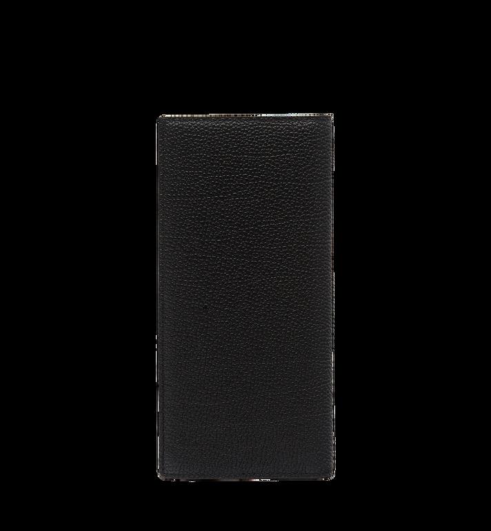 MCM Ottomar Long Bifold Wallet in Grained Leather MXL7SOT02BK001 AlternateView3
