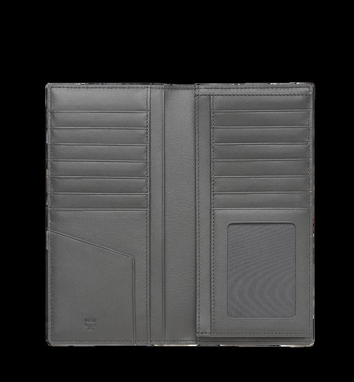 MCM Long Two Fold Wallet in Visetos Original MXL8AVI70EP001 AlternateView4