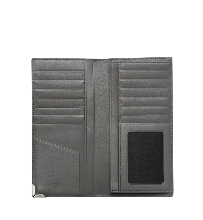 MCM Coburg Long Bifold Wallet in Stripe Print Leather MXL8SCE01EZ001 AlternateView4