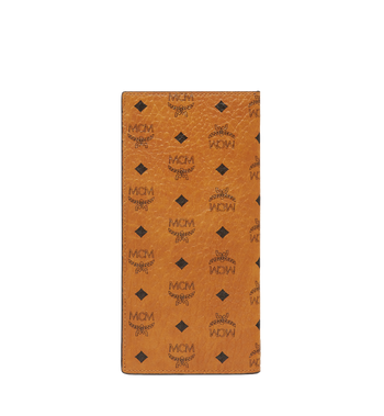MCM Long Bifold Wallet in Visetos Original MXL8SVI70CO001 AlternateView3