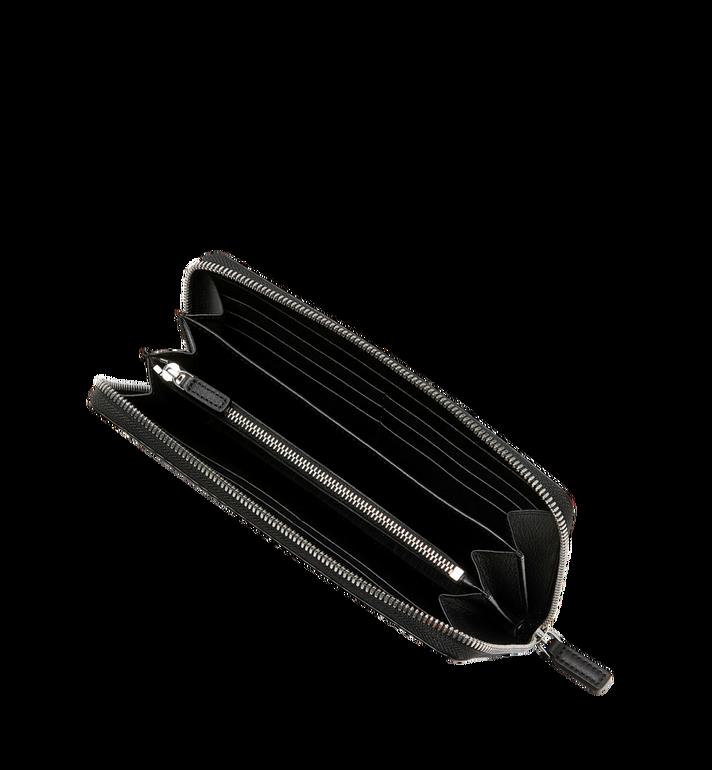 MCM Reissverschlussbrieftasche mit Handgelenksband und Visetos-Logo in Weiss MXL9SWA06BV001 AlternateView4