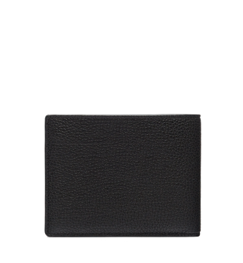 MCM Ottomar Bifold Wallet in Grained Leather MXS7SOT06BK001 AlternateView3