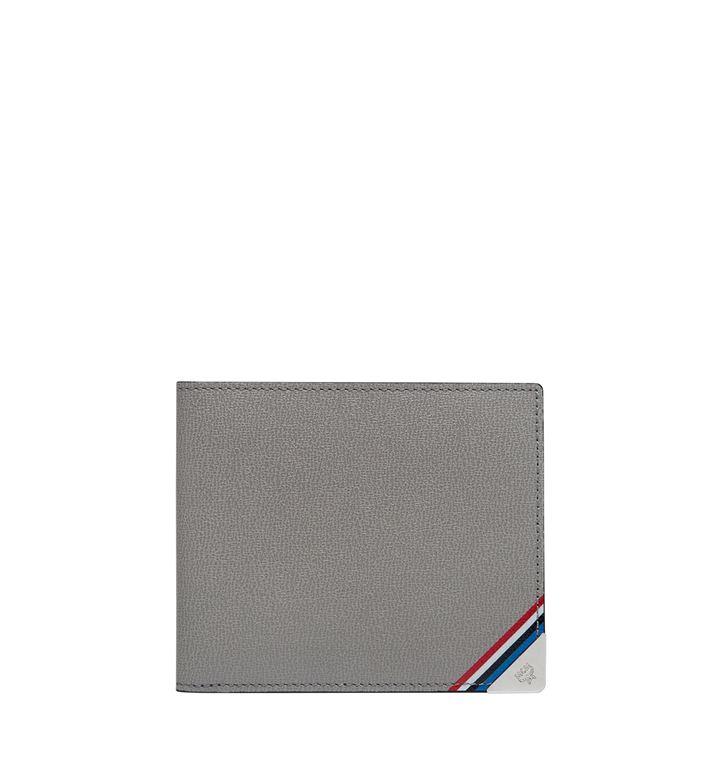 MCM Coburg Bifold Stripe Wallet in Grained Leather MXS8SCE02EZ001 AlternateView