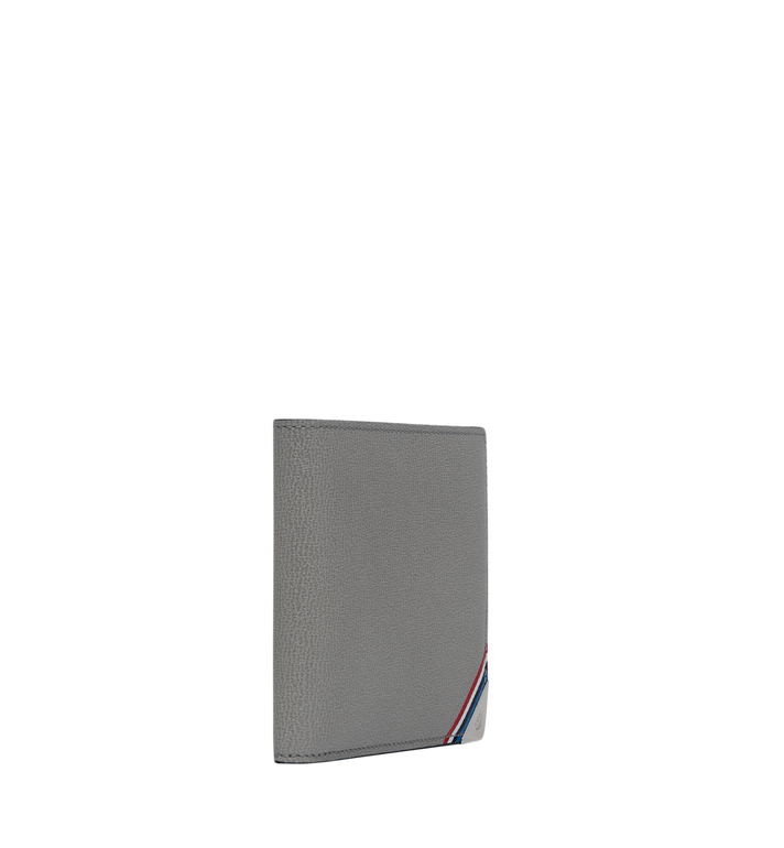 MCM Coburg Bifold Stripe Wallet in Grained Leather MXS8SCE02EZ001 AlternateView2