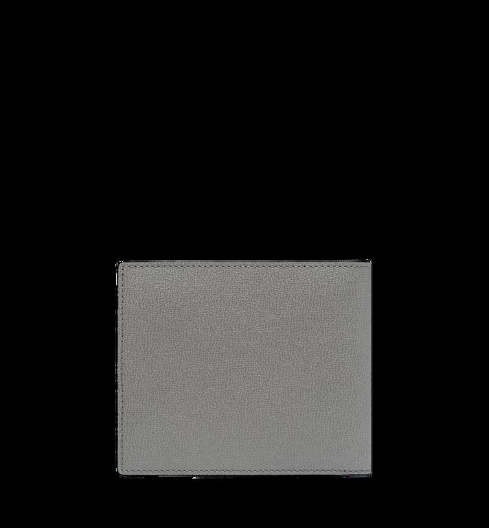 MCM Coburg Bifold Stripe Wallet in Grained Leather MXS8SCE02EZ001 AlternateView3