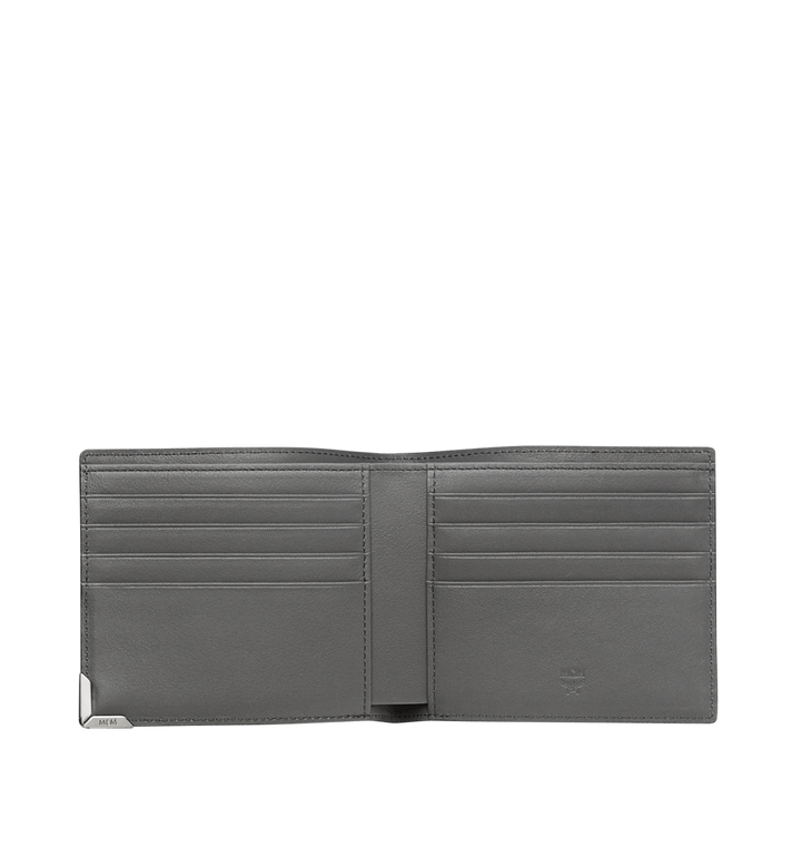 MCM Coburg Bifold Stripe Wallet in Grained Leather MXS8SCE02EZ001 AlternateView4