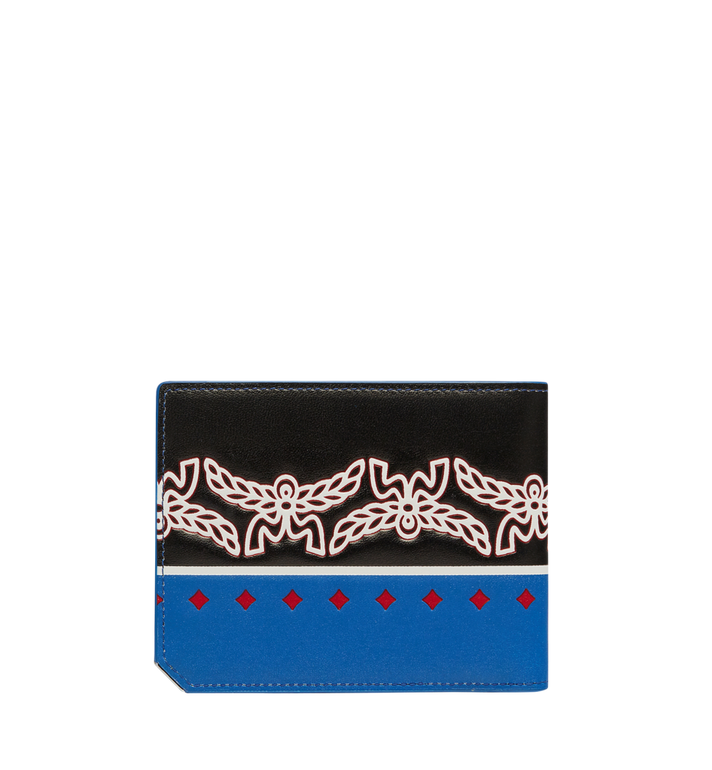 MCM Coburg Bifold Wallet in Victory Print Leather MXS8SCE73BE001 AlternateView3