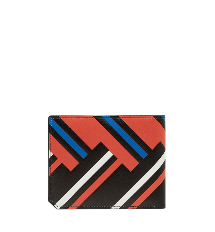 MCM Coburg Bifold Wallet in Victory Print Leather MXS8SCE83BB001 AlternateView3