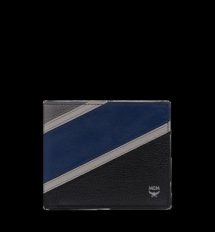 MCM Ottomar Bifold Wallet in Chevron Leather MXS8SOT30VA001 AlternateView