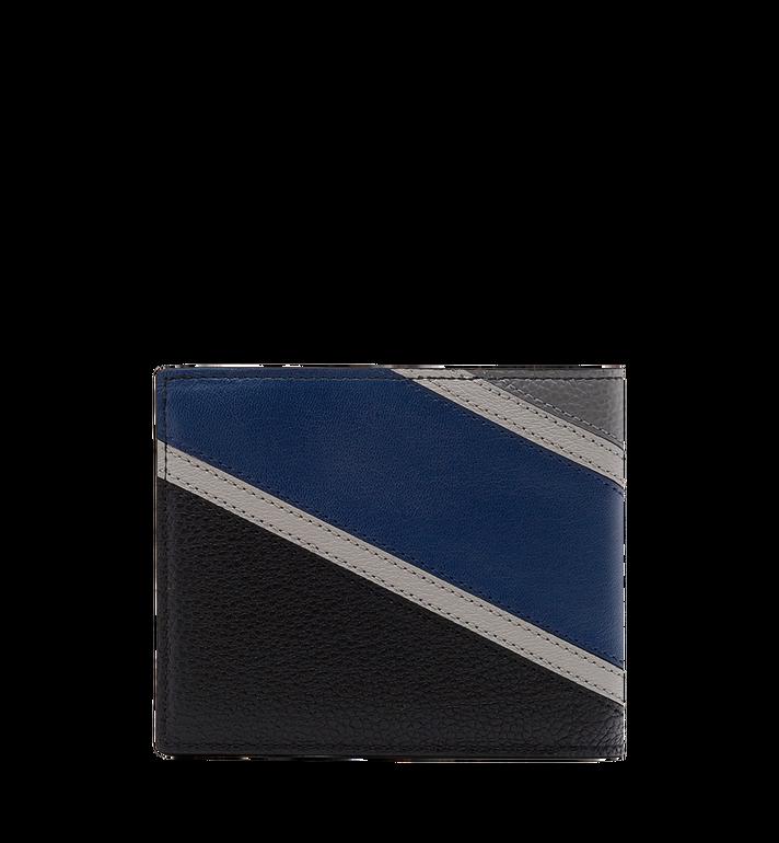 MCM Ottomar Bifold Wallet in Chevron Leather MXS8SOT30VA001 AlternateView3