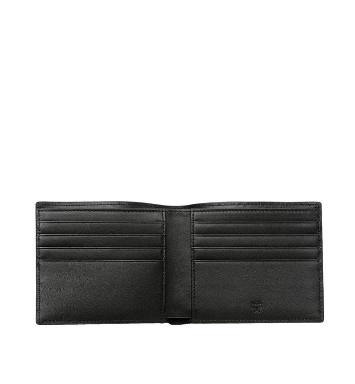 MCM Ottomar Bifold Wallet in Chevron Leather MXS8SOT30VA001 AlternateView4