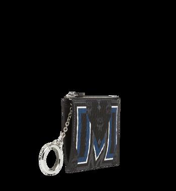 MCM Gunta M Stripe Schlüssseletui in Visetos MXS8SVE06BK001 AlternateView2
