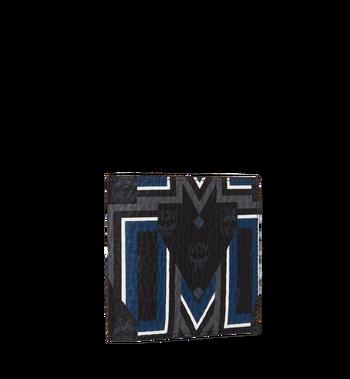 MCM Bifold Wallet in Gunta M Stripe Visetos MXS8SVE63BK001 AlternateView2