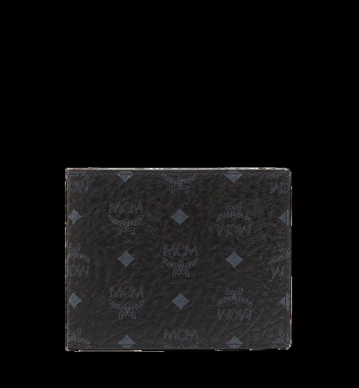 MCM Claus Bifold Wallet in Visetos MXS8SVI35BK001 AlternateView