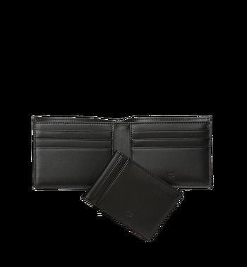 MCM Claus Bifold Wallet in Visetos MXS8SVI35BK001 AlternateView5