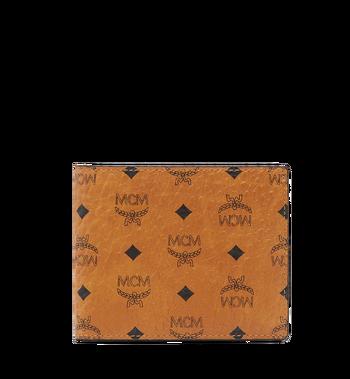 MCM Claus Bifold Wallet in Visetos MXS8SVI35CO001 AlternateView