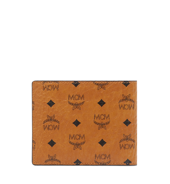 MCM Claus Bifold Wallet in Visetos MXS8SVI35CO001 AlternateView3