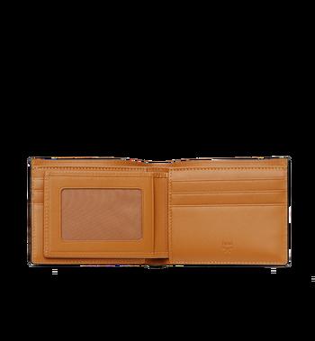 MCM Claus Bifold Wallet in Visetos MXS8SVI35CO001 AlternateView4