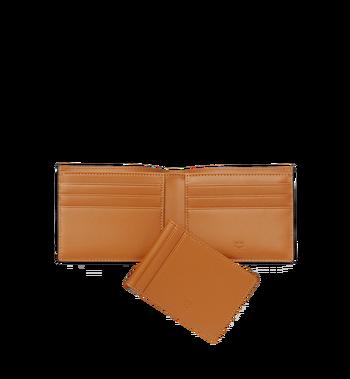 MCM Claus Bifold Wallet in Visetos MXS8SVI35CO001 AlternateView5