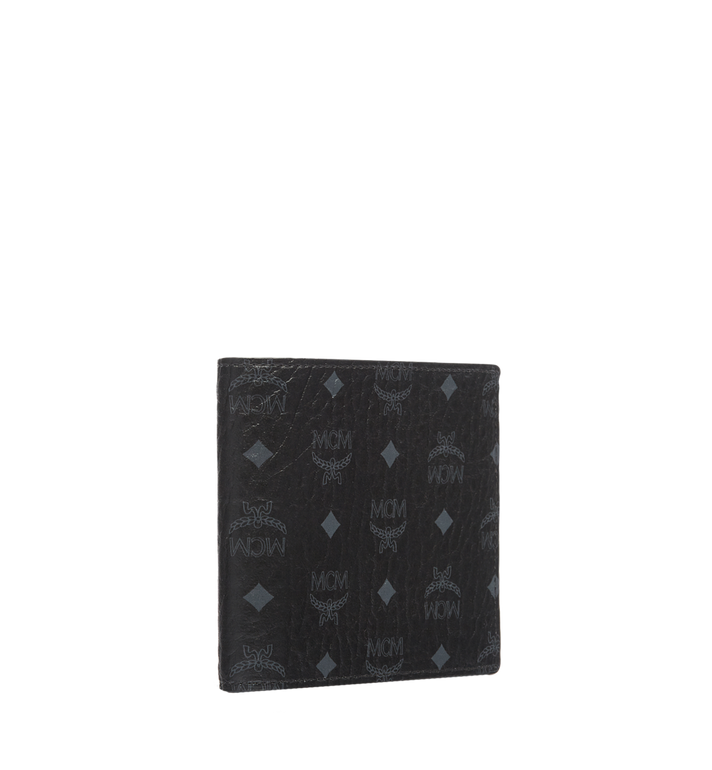MCM Bifold Wallet in Visetos Original MXS8SVI63BK001 AlternateView2