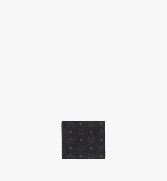 MCM Bifold Wallet in Visetos Original MXS8SVI63BK001 AlternateView3