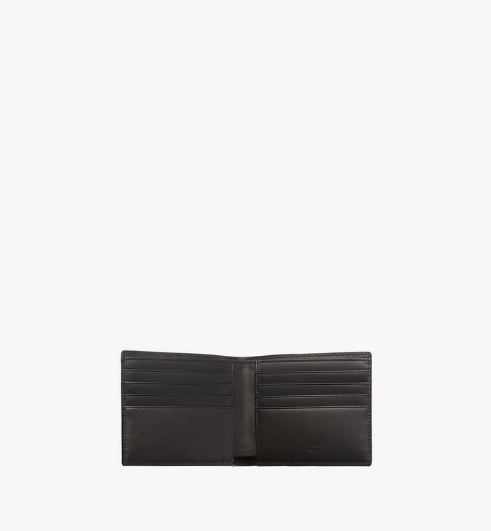 MCM Bifold Wallet in Visetos Original MXS8SVI63BK001 AlternateView4